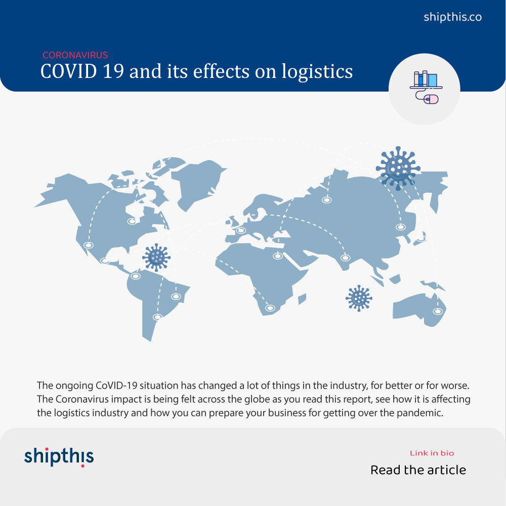 Coronavirus Pandemic – Impact on Freight Forwarding & logistics Industry
